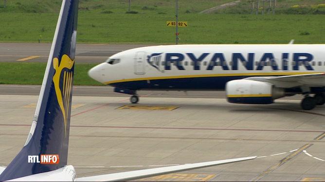 Ryanair revoit à la hausse le nombre d'emplois menacés en Belgique