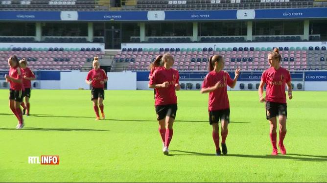 Euro 2022 : les Red Flames se sont entraînées pour leur match de vendredi