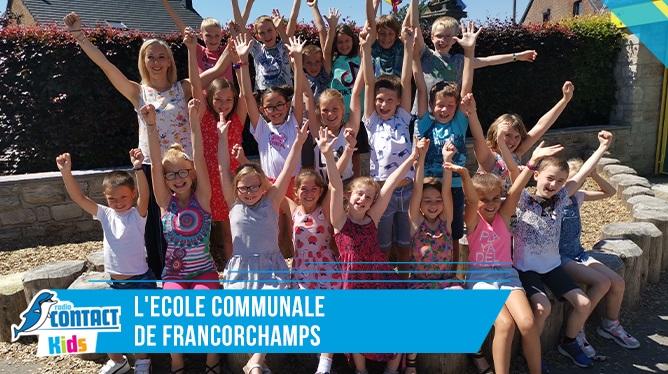 Contact Kids à l'école communale de Francorchamps