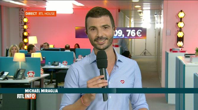 32e Télévie: Michael Miraglia en direct du centre de promesse d'RTL House