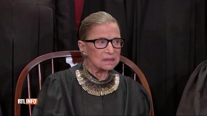 USA: la doyenne de la Cour suprême Ruth Bader Ginsburg s'éteint à 87 ans
