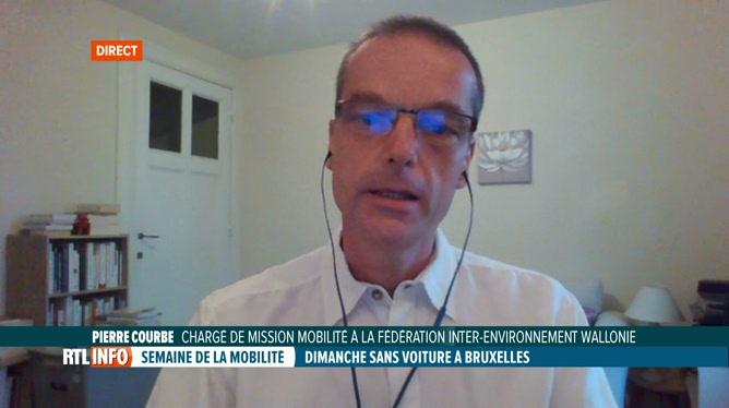 Journée sans voiture: réaction de Pierre Courbe quant à son évolution
