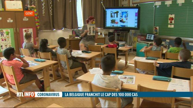 Coronavirus: une unité mobile de tests créée pour les écoles d'Anvers