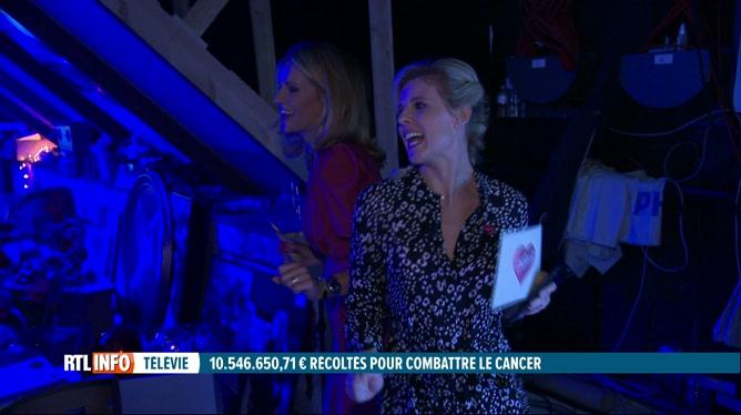 32e Télévie: aperçu de l'ambiance dans les coulisses de la soirée