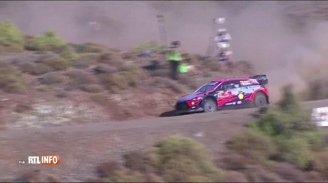 WRC: Thierry Neuville se classe second au Rallye de Turquie