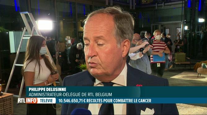 32e Télévie: remerciements de l'administrateur délégué de RTL Belgium