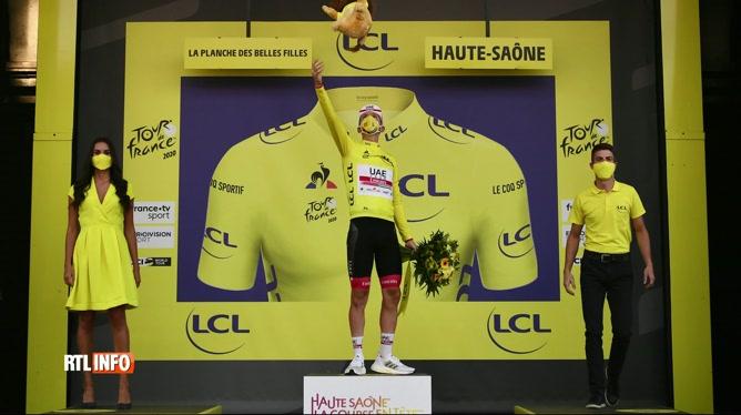 Tour de France: victoire exceptionnelle du jeune slovène Tadej Pogacar
