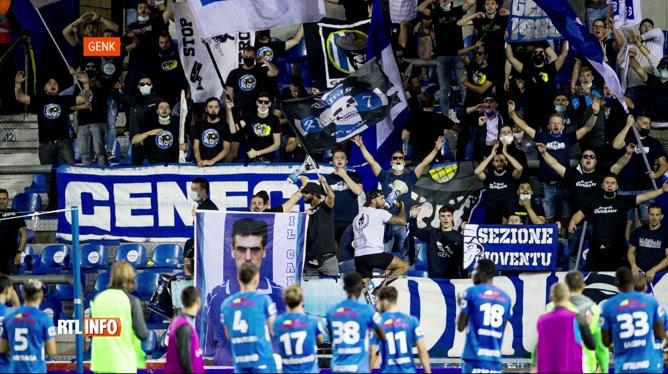 Football: la capacité du stade de Genk réduite de moitié