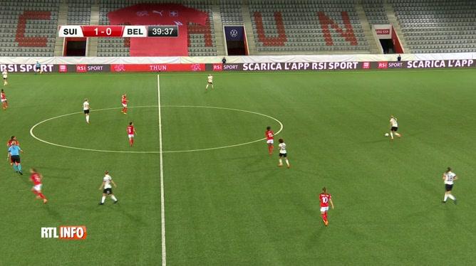 Football féminin: les Red Flames défient la Suisse ce soir à Berne