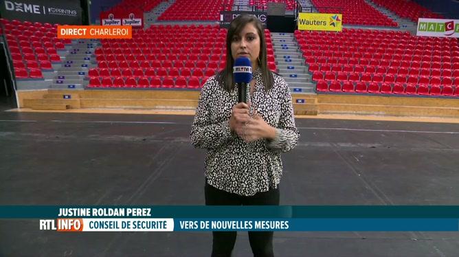 Coronavirus: Justine Roldan Perez est en direct du Dôme à Charleroi