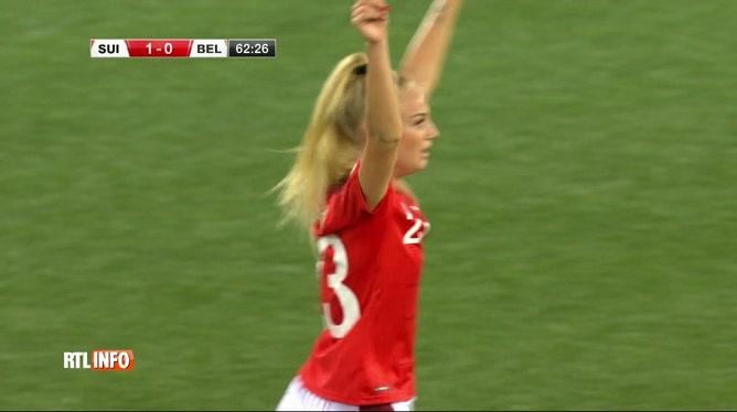 Football: les Red Flames se sont inclinées face à la Suisse (2-1)