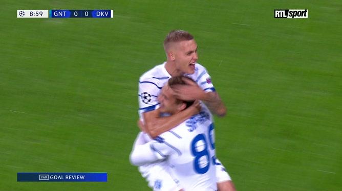 Résumé La Gantoise - Dynamo Kiev
