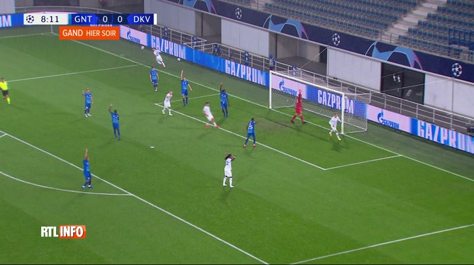 Ligue des Champions - Barrages aller - La Gantoise/Dinamo Kiev (1-2)