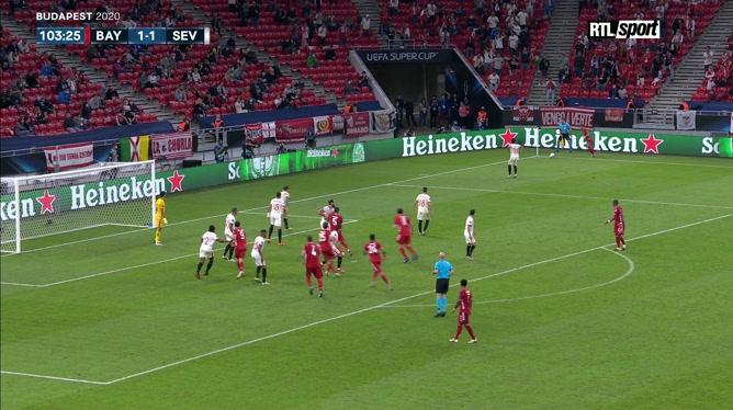 Supercoupe d'Europe: Javi Martinez met le Bayern Munich aux commandes!