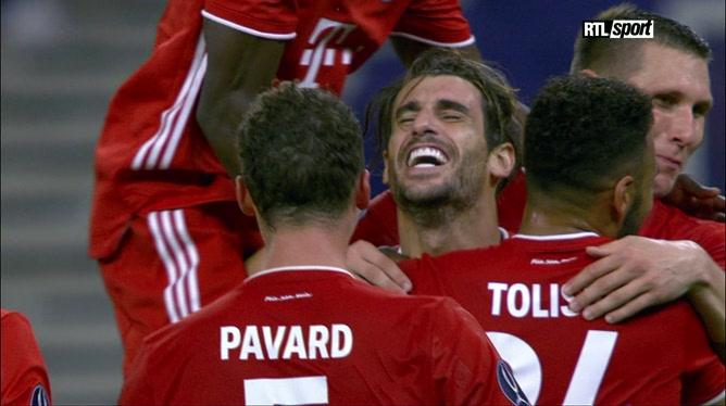 Le Bayern Munich remporte la Supercoupe d'Europe en dominant le FC Séville (2-1)