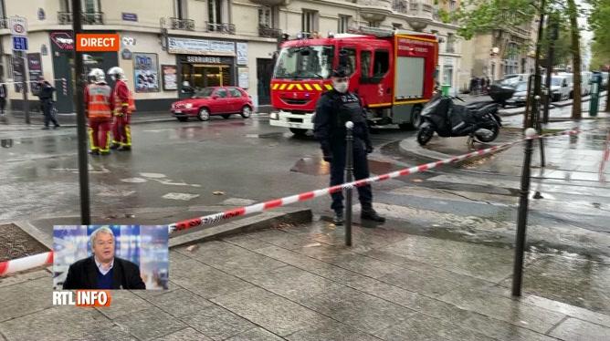 Attaque à la machette à Paris: deux blessés en