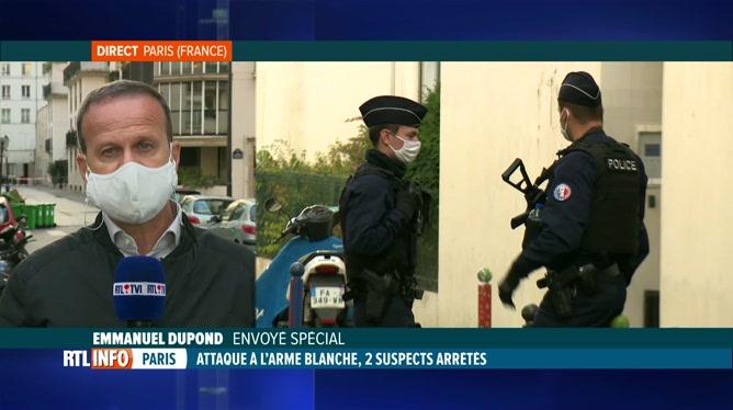 Attaque à Paris: le point sur la situation avec Emmanuel Dupond