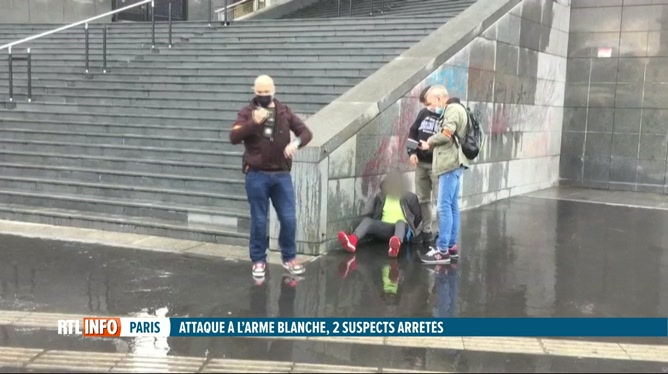 Attaque à la machette près des anciens locaux de Charlie Hebdo, 2 blessés