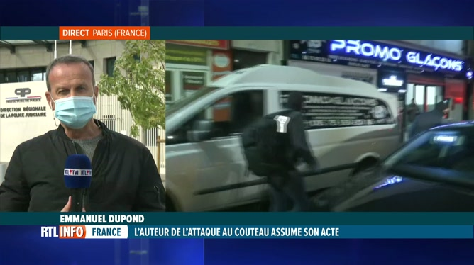 Attaque à Paris: Emmanuel Dupond fait le point sur la situation