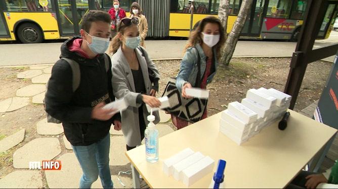 Coronavirus: tests salivaires gratuits et anonymes à l'Université de Liège