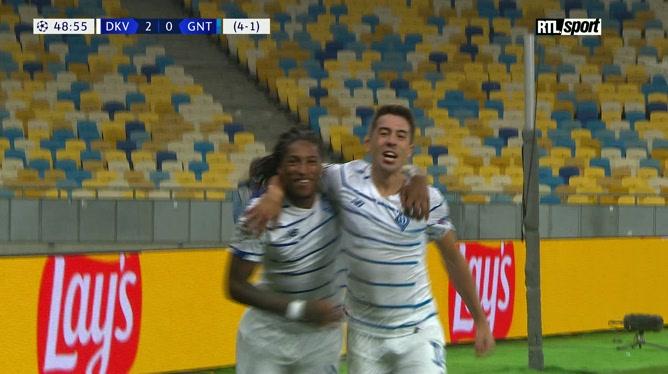 Ligue des champions: Gerson Rodrigues alourdit le score face à Gand (vidéo)