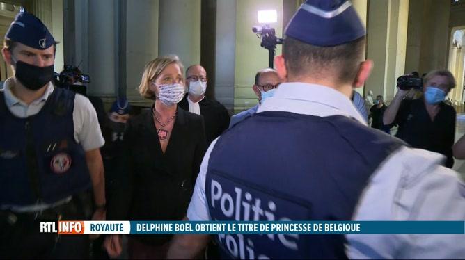 Delphine Boël obtient le titre de Princesse de Belgique