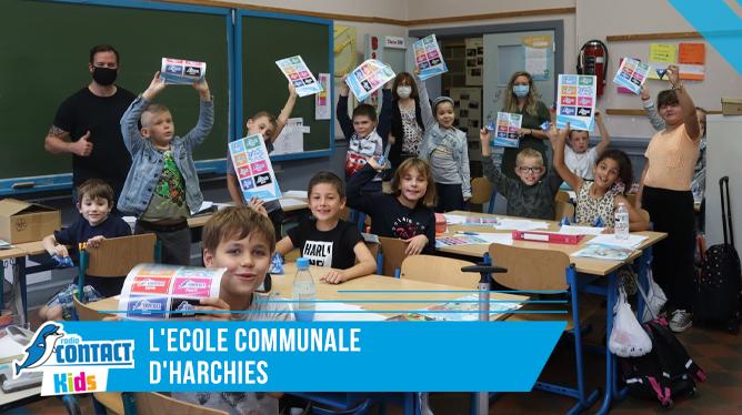 Contact Kids à l'école communale d'Harchies