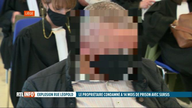 Explosion de la rue Léopold à Liège, la justice a rendu son jugement