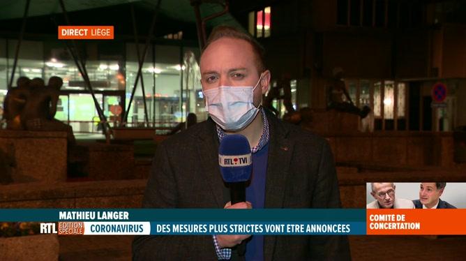 Coronavirus: les hôpitaux de la province de Liège au bord de la saturation
