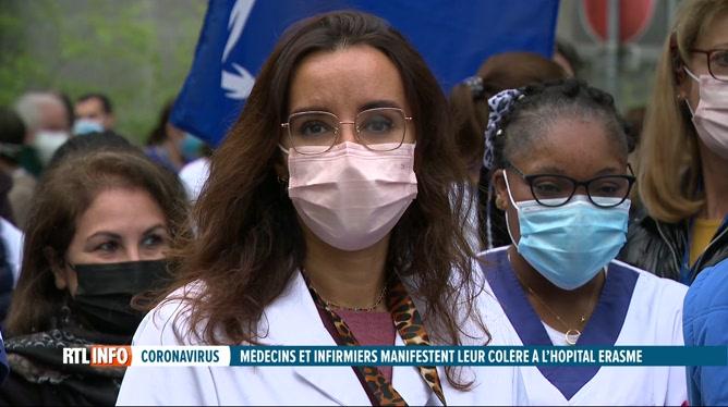 Coronavirus: arrêt de travail du personnel de l'hôpital Erasme