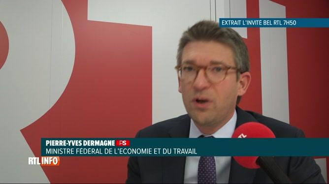 Coronavirus: réaction de Pierre-Yves Dermagne sur la fermeture de l'Horeca