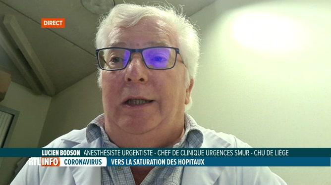 Coronavirus: Lucien Bodson fait le point sur la situation au CHU de Liège