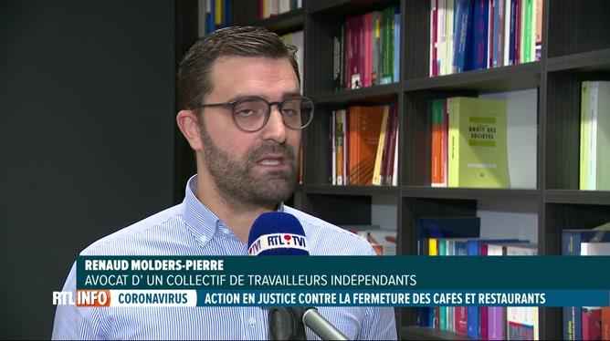 Coronavirus: des exploitants de l'Horeca annoncent une action en justice