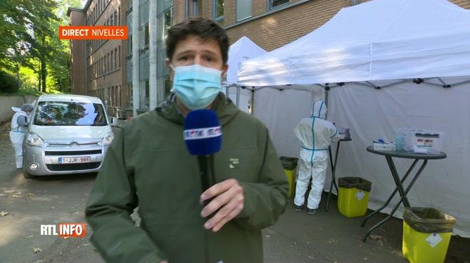 Coronavirus: deux centres de dépistage en Brabant wallon sont fermés