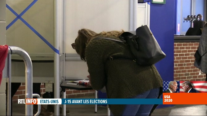 Elections aux Etats-Unis: un stade de Boston devient un bureau de vote