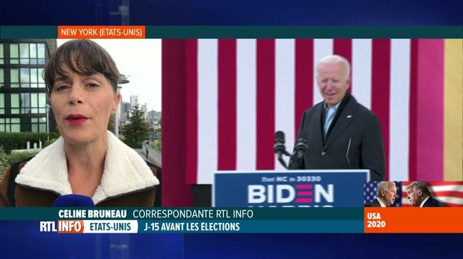 Elections aux Etats-Unis: Céline Bruneau évoque les derniers sondages