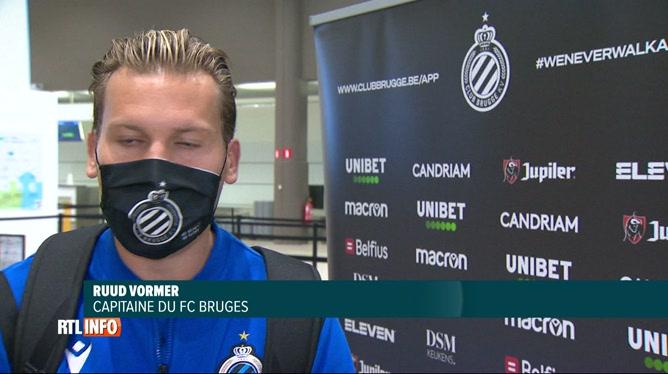 Ligue des Champions: le FC Bruges jouera demain sans Simon Mignolet