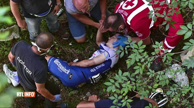 Cyclisme: Remco Evenepoel blanchi par la fondation anti-dopage