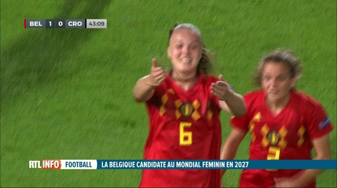 Football féminin: candidature commune de la Belgique pour le Mondial 2027