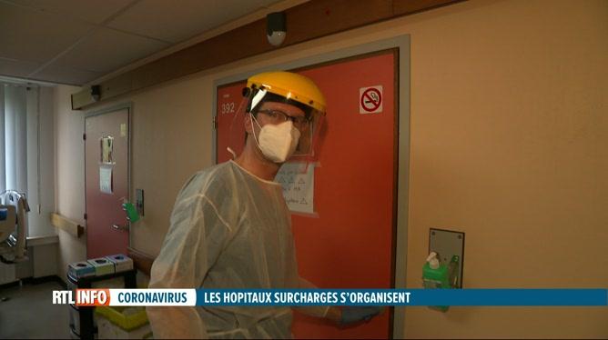 Coronavirus: de plus en plus d'hôpitaux réquisitionnent des médecins