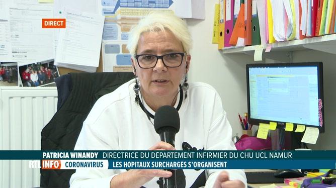 Coronavirus: le CHU de Namur lance un appel aux étudiants-infirmiers