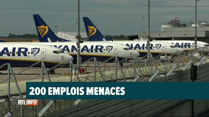 Ryanair compte supprimer 200 emplois parmi le personnel de cabine