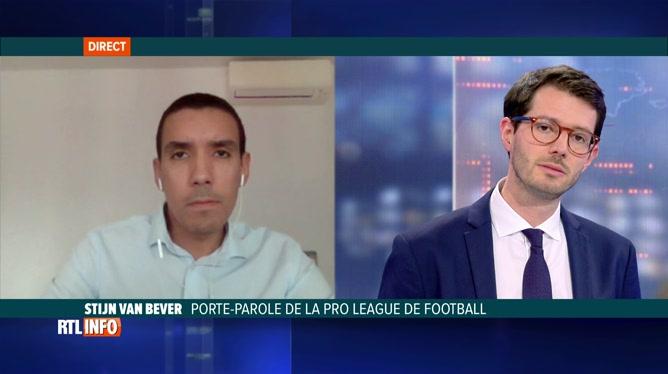Football: nouvelles restrictions dans le championnat belge