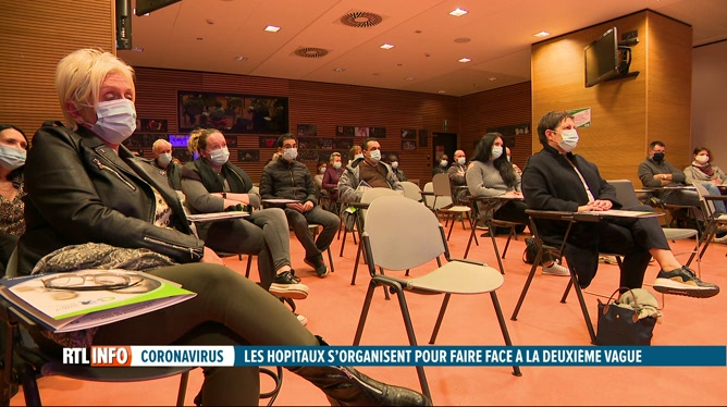Coronavirus: le CHR de Liège fait appel à des bénévoles