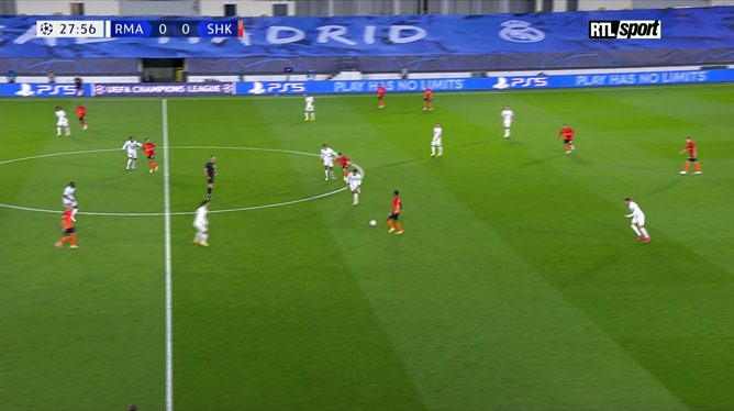 Ligue des champions: Real Madrid 2 - 3 Shakhtat Donetsk