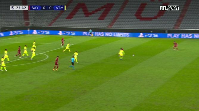 Ligue des champions: Kingsley Coman ouvre le score pour le Bayern Munich