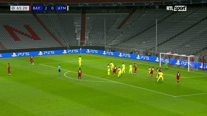 Ligue des champions: Corentin Tolisso enfonce le clou pour le Bayern Munich