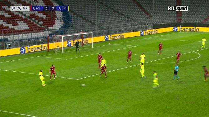Ligue des champions: Kingsley Coman enfonce le clou pour le Bayern Munich