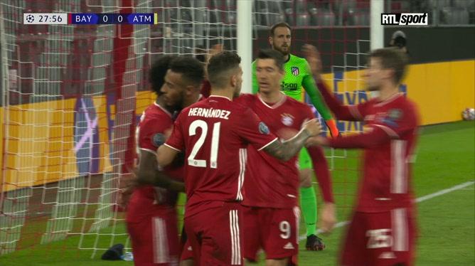 Ligue des champions: Bayern Munich 4 - 0 Atlético Madrid