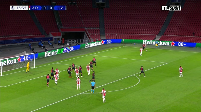 Ligue des champions: Ajax Amsterdam 0 - 1 Liverpool